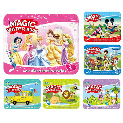 Kid's Magic Water Drawing Book Toy Sunshine China Princess