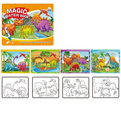 Kid's Magic Water Drawing Book Toy Sunshine China Dynosource