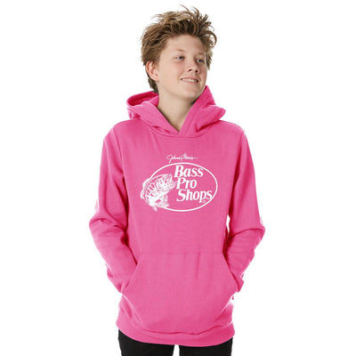 BPS Rango Fleece Boys Pullover Hoodie Boy's Pullover Hoodie NMA Light Pink White 2T
