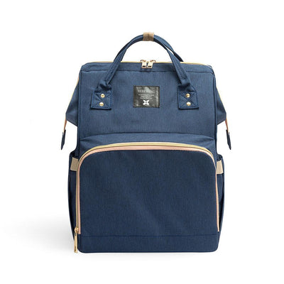 Bebewing Solid Baby Diaper Backpack Bag Women's Accessories Sunshine China Navy