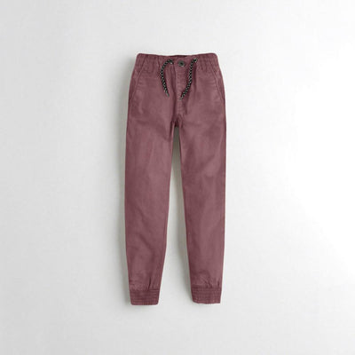 Tumble N Dry Boy's Jogger Pants Boy's Denim First Choice Marsala 1.5-2 Years