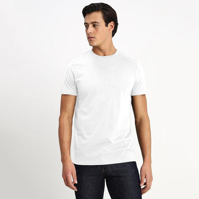 CSG Paulinia Men's Solid Tee Shirt Men's Tee Shirt First Choice White S