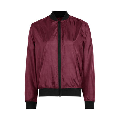 Edremtef Women's Ultra Light Bomber Jacket Women's Jacket AGZ