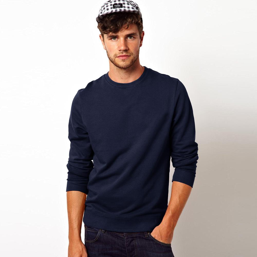 Kitrose Sweat Shirt Men's Sweat Shirt Image Navy M