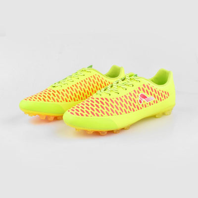 Kangta Men's Sturdy Football Shoes Men's Shoes MB Traders Fluorescent Yellow EUR 38