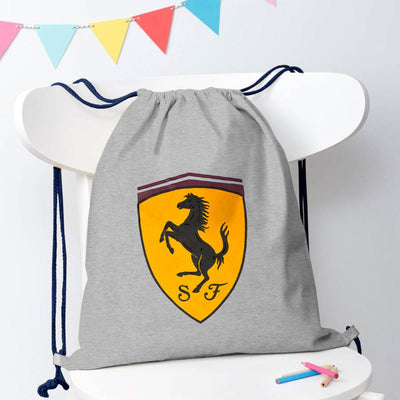 Polo Republica Amasya Drawstring Bag Drawstring Bag Polo Republica Heather Grey