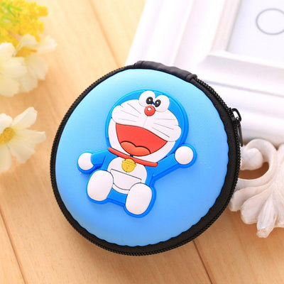 Cartoon Character Headphone Storage Bag Storage Bag Sunshine China Doremon Sky
