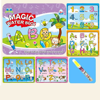 Kid's Magic Water Drawing Book Toy Sunshine China Alphabetic