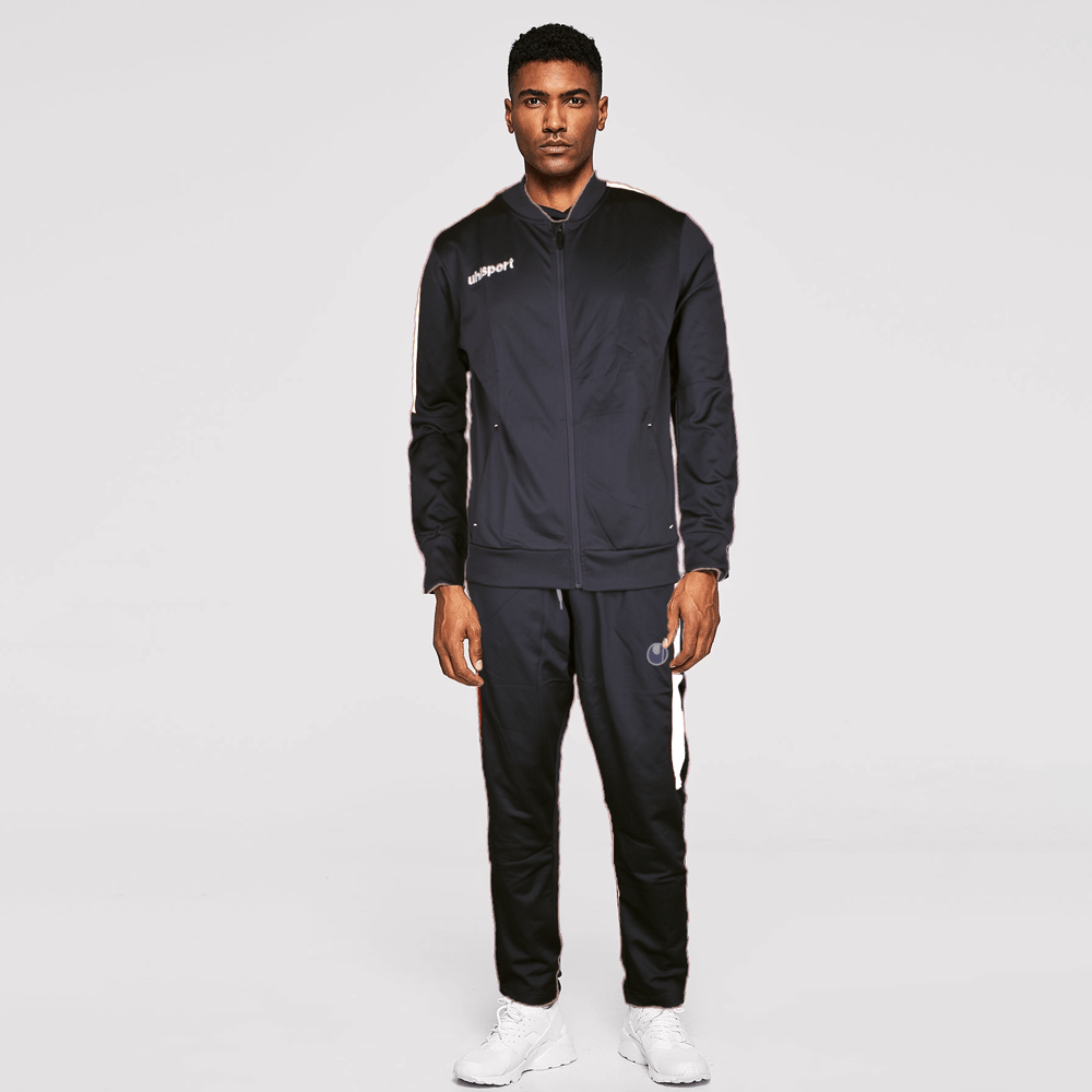 UHL Sports Men's Sports Zip Through Poly Tracksuit