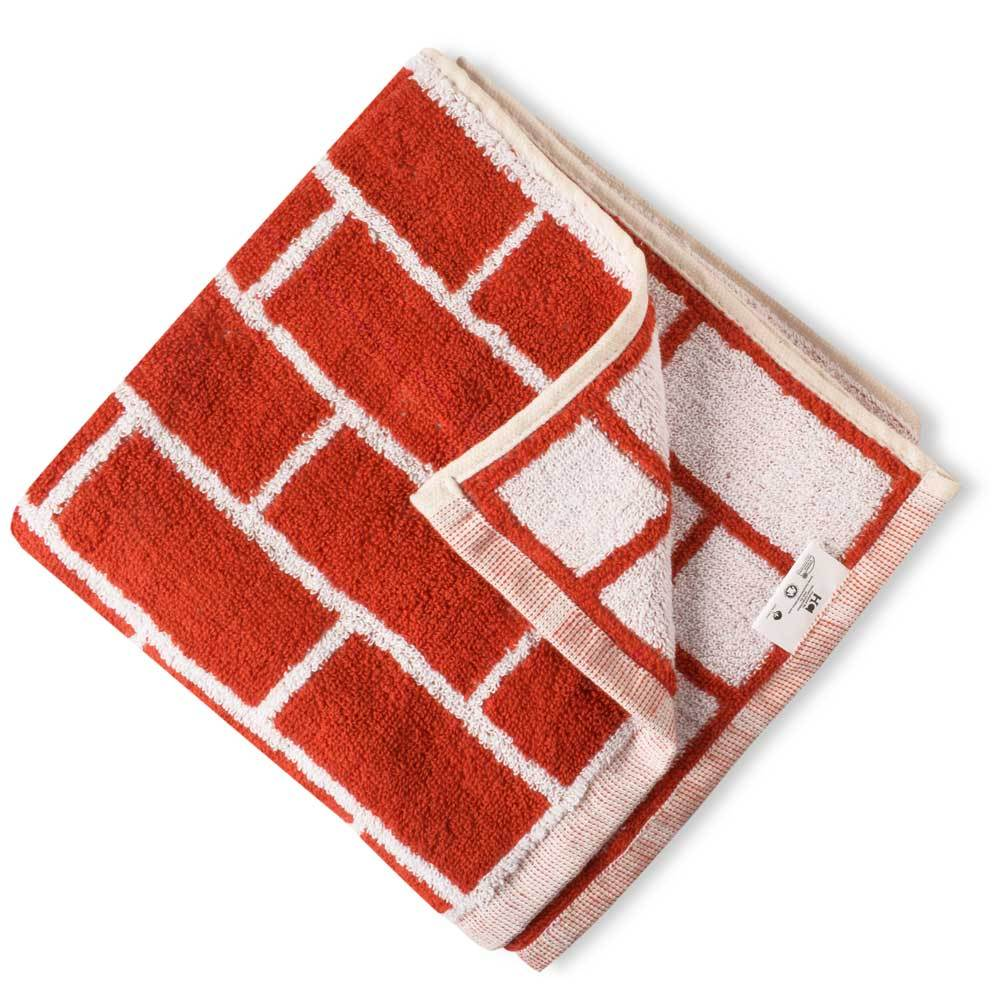 Rawlins Super Absorbent Yarn Dyed Bath Towel Towel Haroon Cp Brick Red