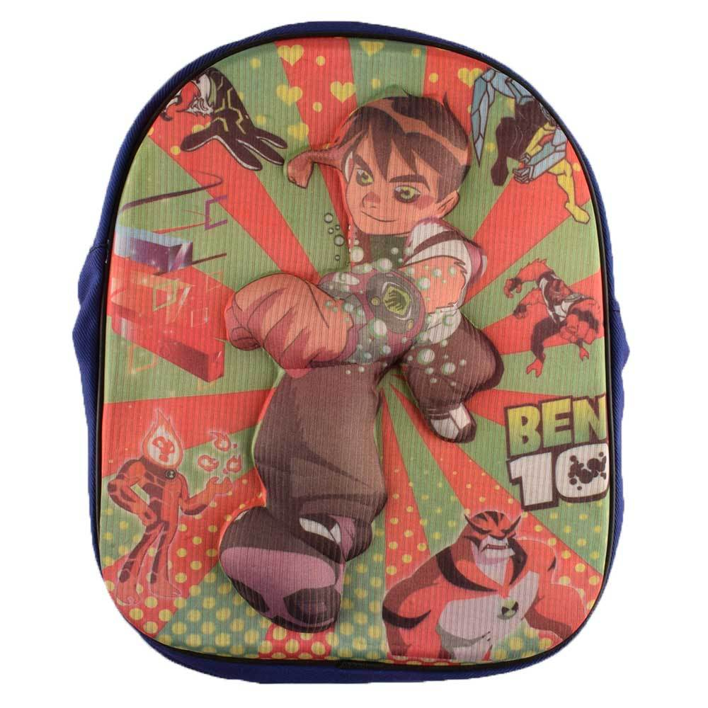ANF Kid's Comic Sturdy School Backpack School Bag ANF Ben 10