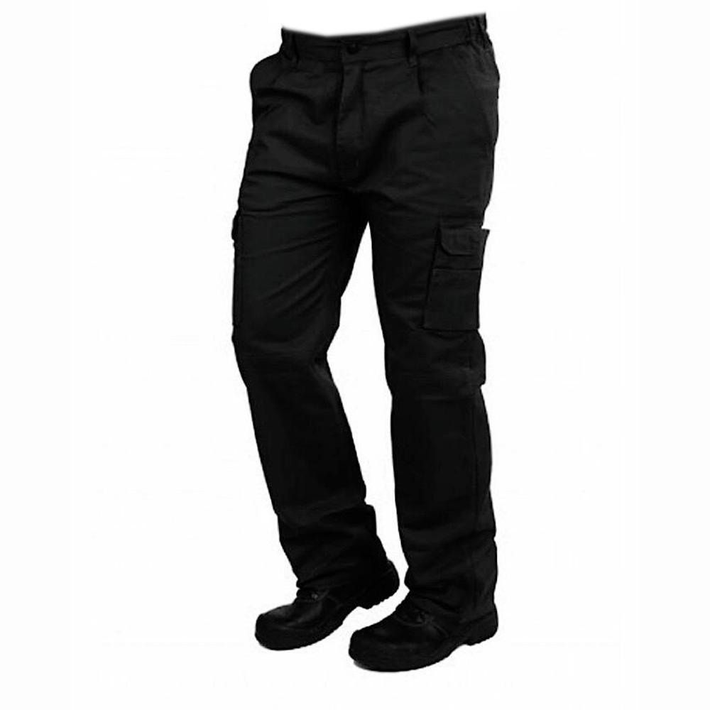 WM Women's Hannover Cargo Trousers Women's Cargo Pants Image Black 26 30