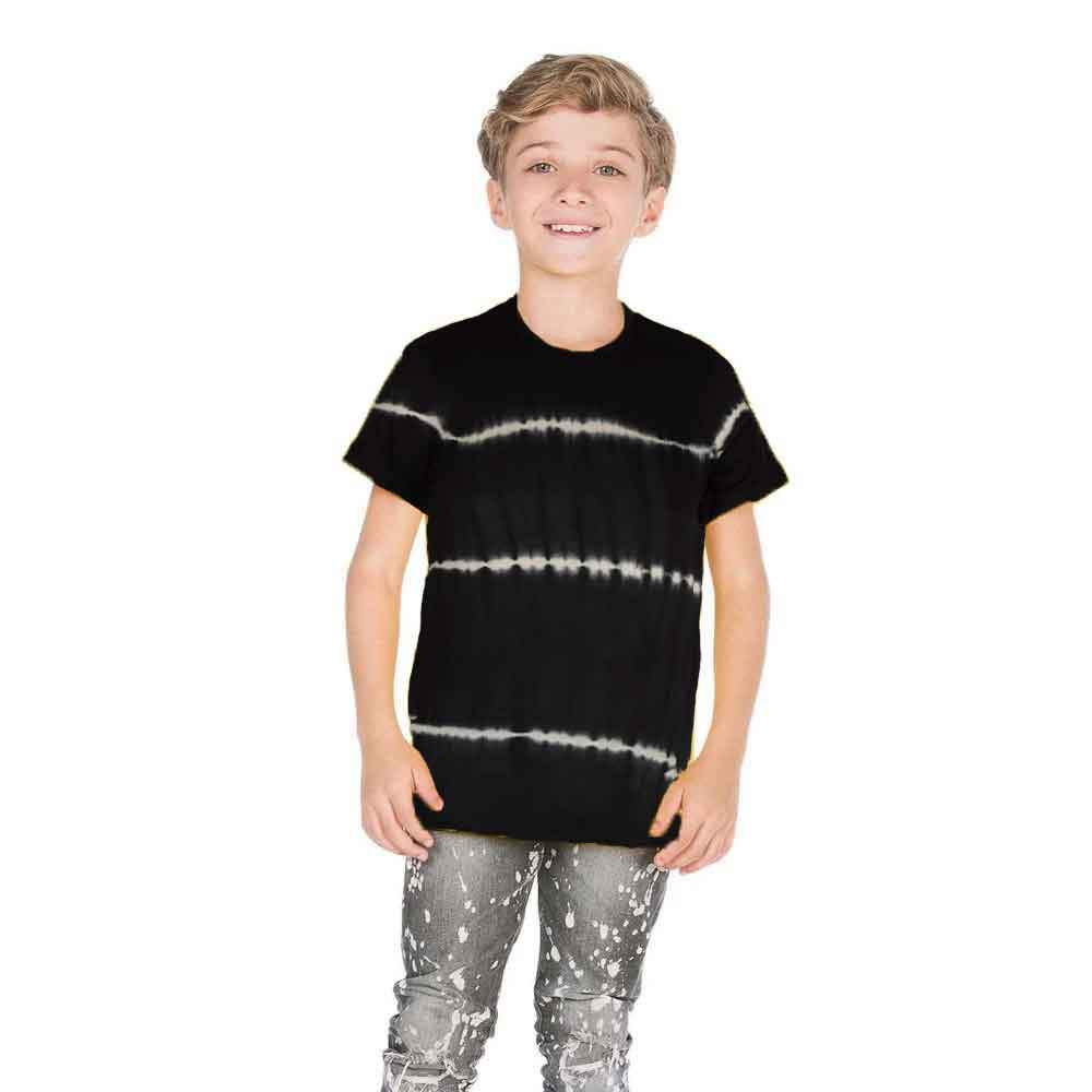 Falls Creek Boy's 1-14B20 Crew Neck Tee Shirt Boy's Tee Shirt SNC Black M(8)