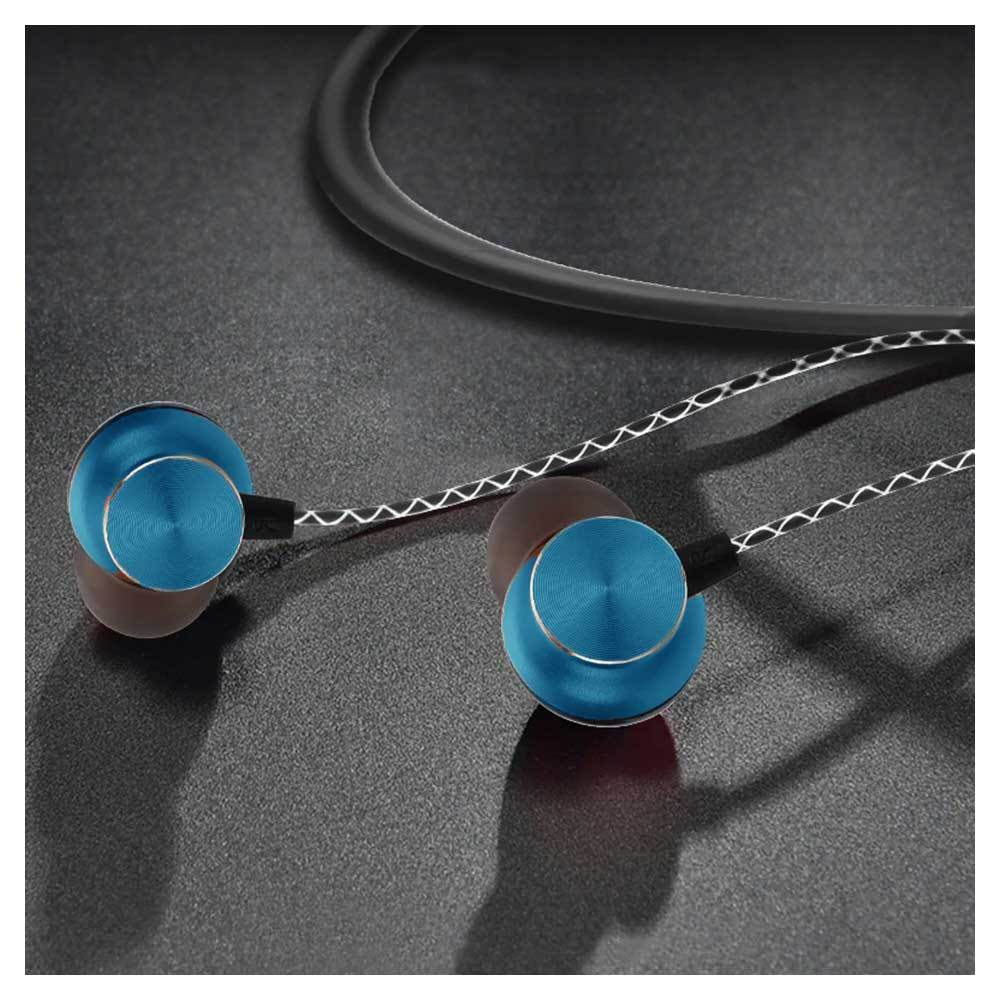 Magnetic Wireless Stereo Bluetooth Earphones Mobile Accessories ALLADIN MERCHANTS Blue