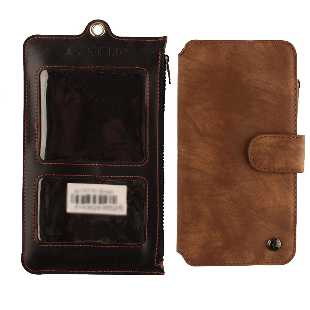 ANF 4-31A20 Samsung Galaxy S6 Edge Mobile Pouch Electronics ANF Brown