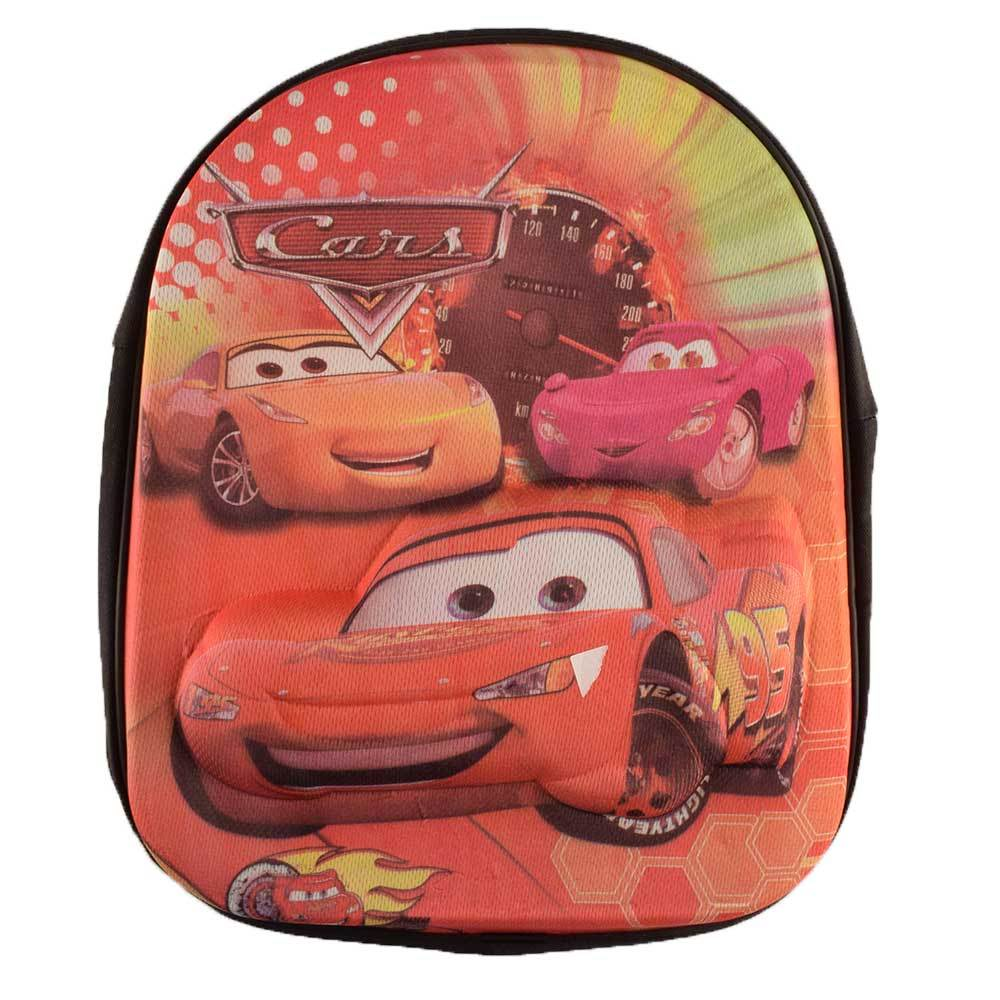 ANF Kid's Comic Sturdy School Backpack School Bag ANF Cars