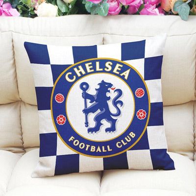 Football Club Composite Linen Cushion Cover Cushion Cover Sunshine China Chelsea