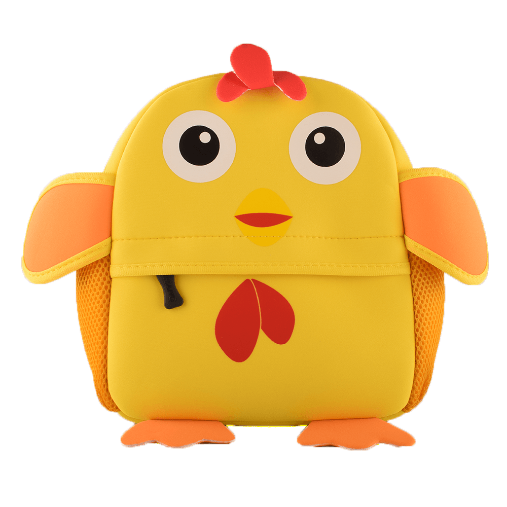 Kid's Animal Design Sturdy School Bags School Bag Sunshine China Chick