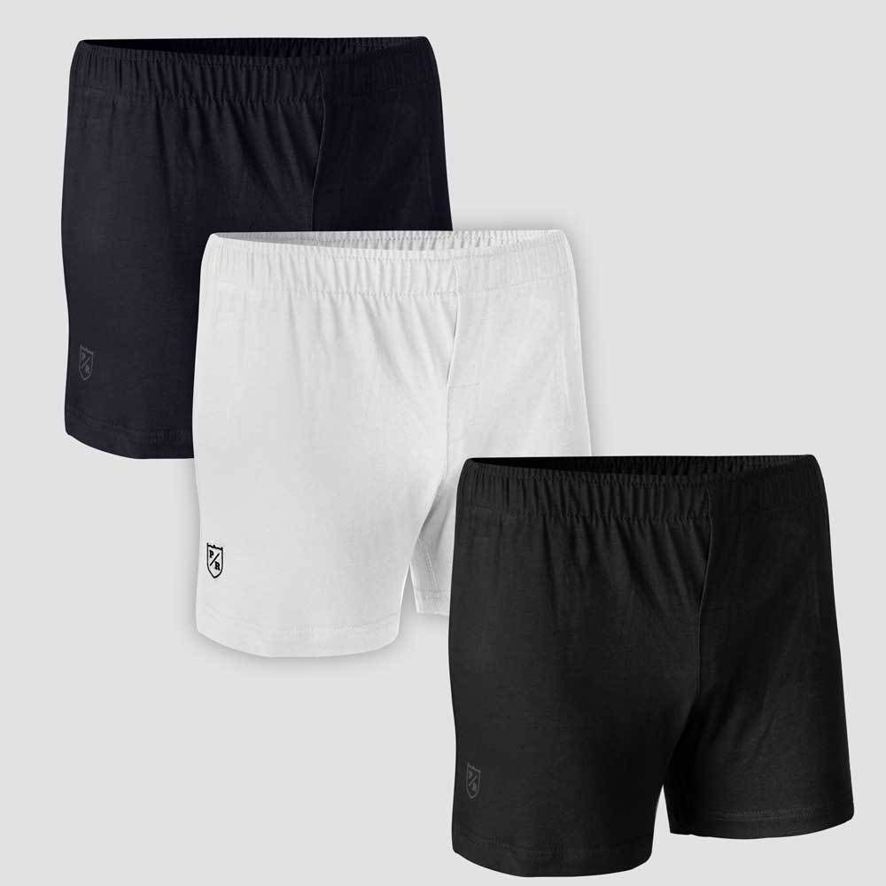 Polo Republica Pack of 3 Signature Boxer Shorts Men's Underwear Polo Republica Assorted Combo-1 S