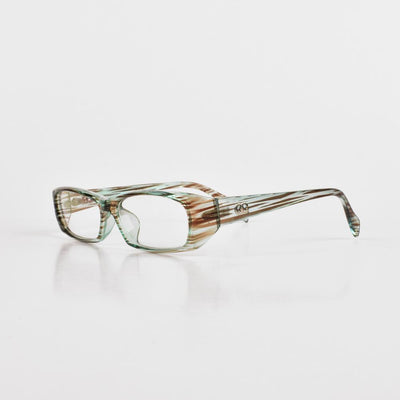 Lanboshi Narrow Frame Spring Eye Glasses Eyewear HDY D2