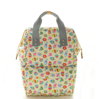 Maternity Large Capacity Printed Diaper Backpack Women's Accessories Sunshine China D2