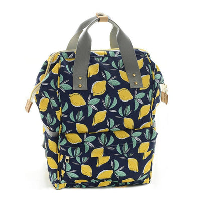 Maternity Large Capacity Printed Diaper Backpack Women's Accessories Sunshine China D3