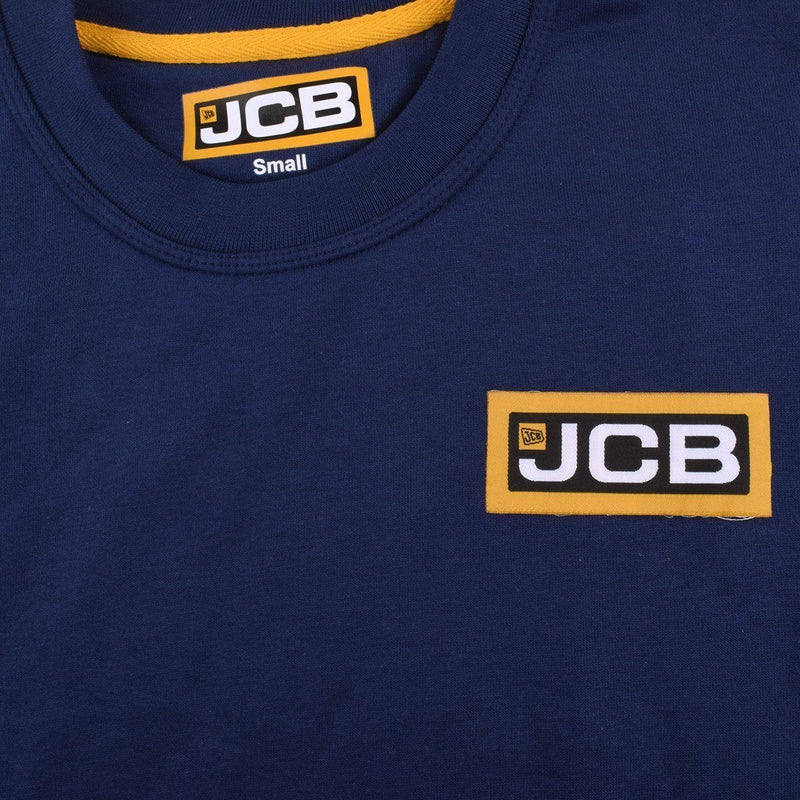 JCB Men's Classy Fleece Sweatshirt Men's Sweat Shirt Image Navy S