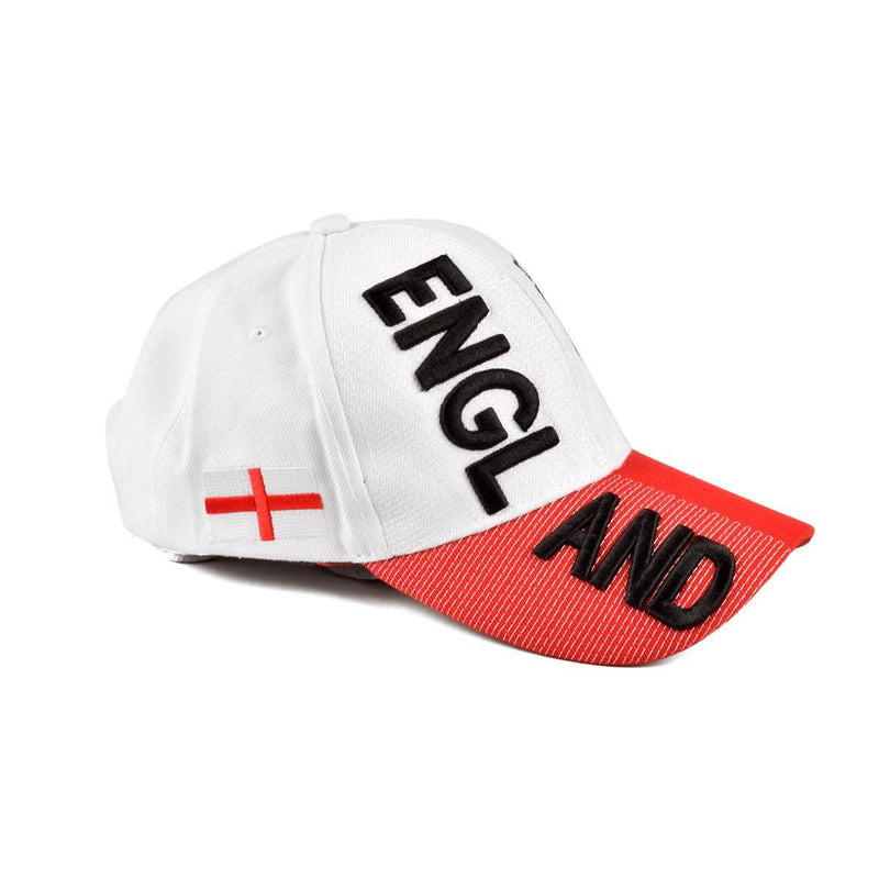 England Flag White Red P Cap Headwear MB Traders