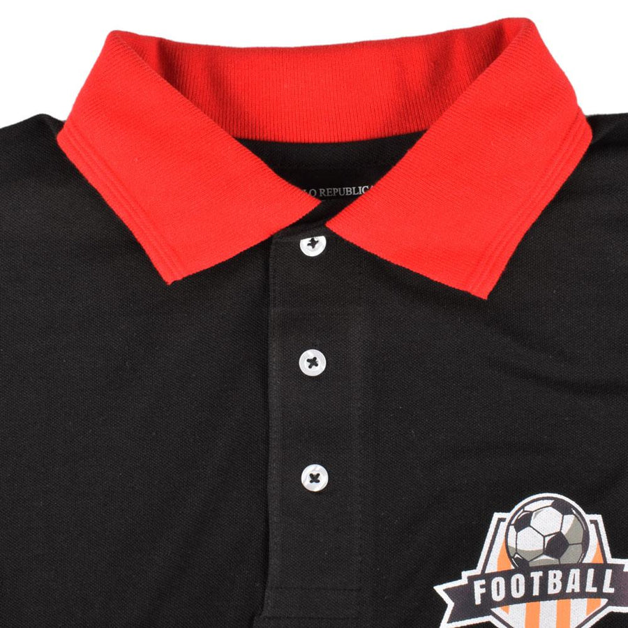 Polo Republica Football Season Pique Polo Shirt