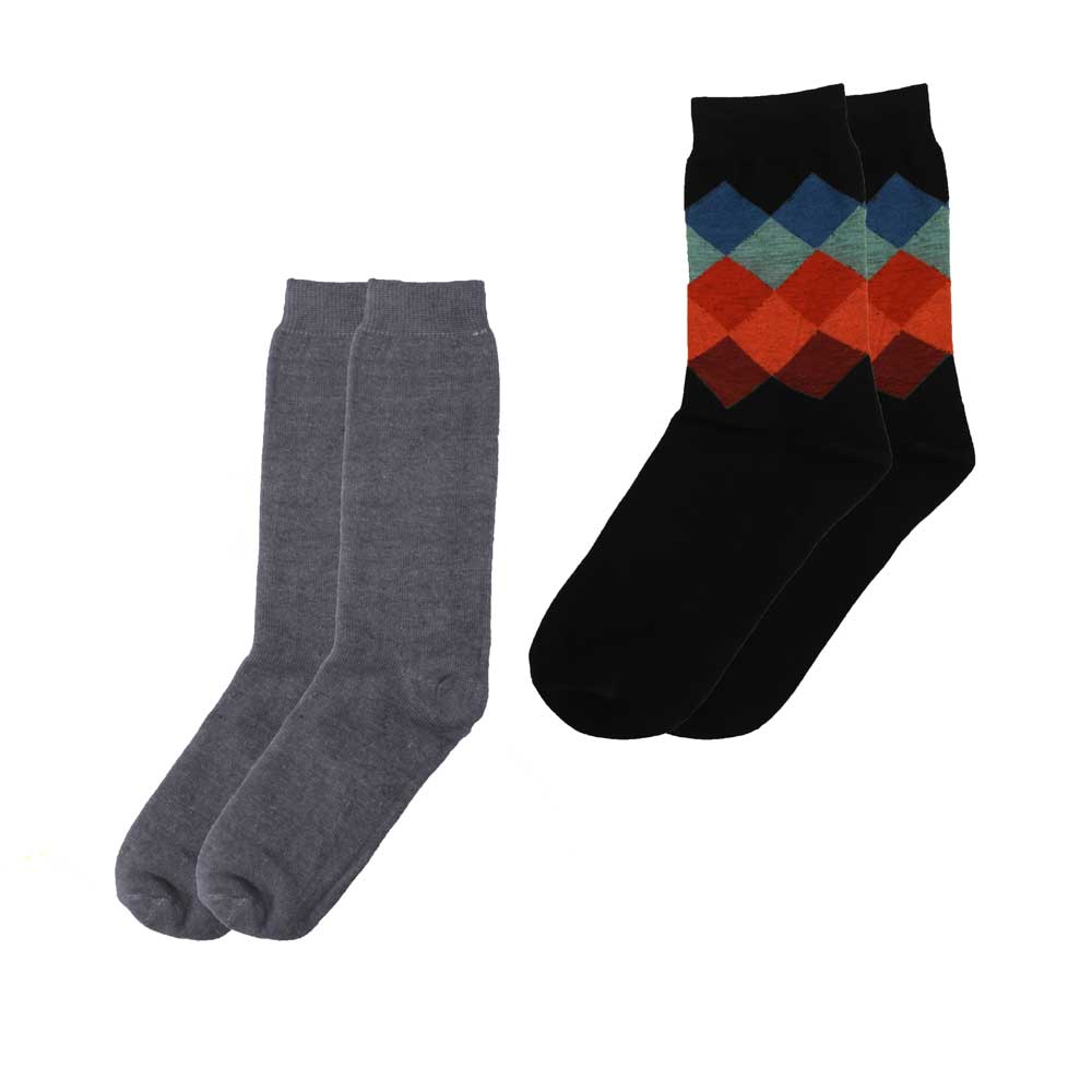 RKI Men's Mossoro Socks Pack of 2 Men's Accessories RKI EUR 41-44 Assorted