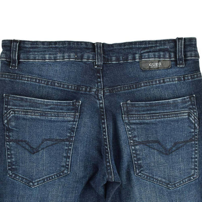 GS Distressed Patched Myron Skinny Denim Men's Denim AGZ
