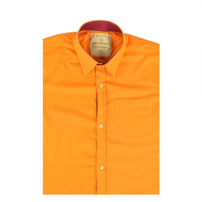 Polo Republica Pachino Solid Color Casual Shirt Men's Casual Shirt RDS Yellow S