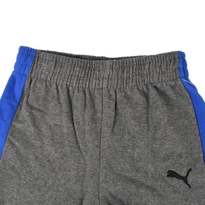 PMA Boy's Newsage Fleece Joggers Boy's Trousers First Choice Charcoal Blue 12 Months