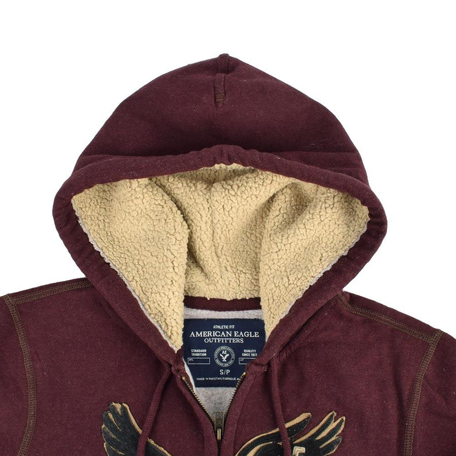 AE Martial Eagle Terry Zipper Hoodie