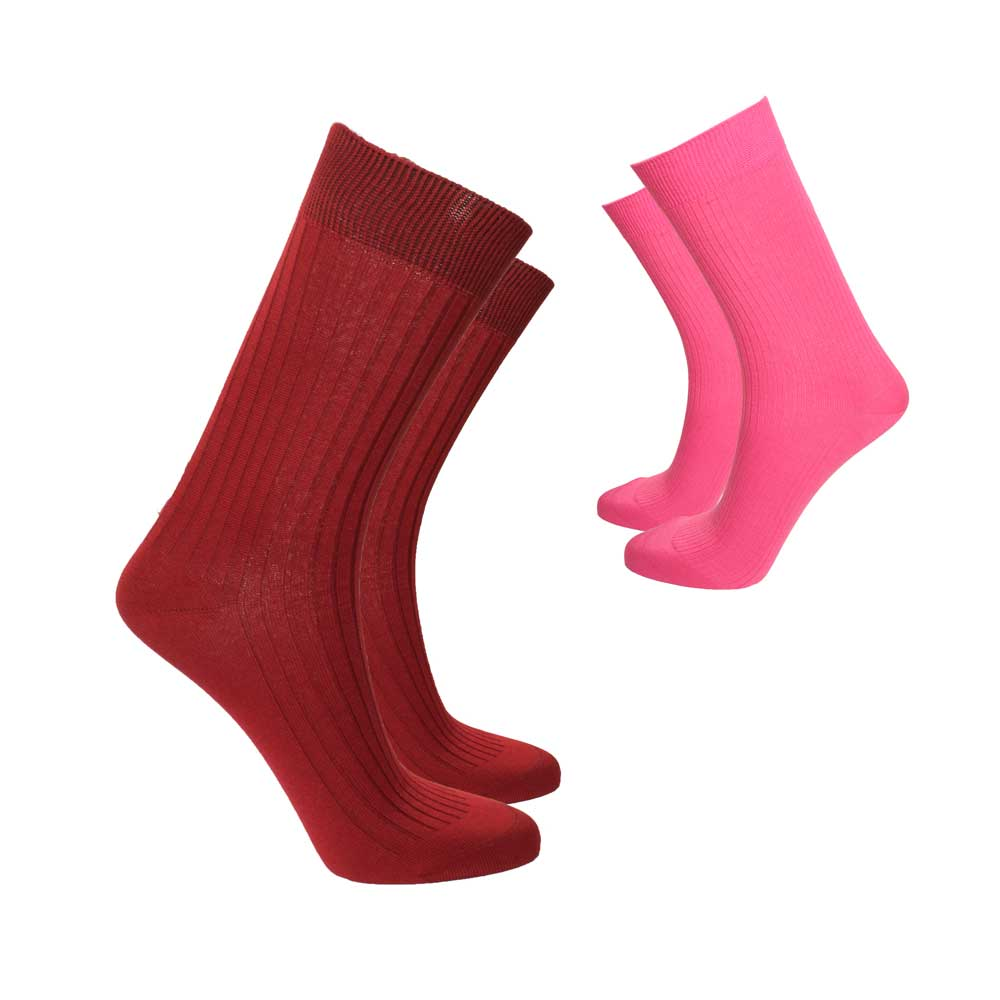 RKI Women's Violette Socks Pair of 2 Socks RKI