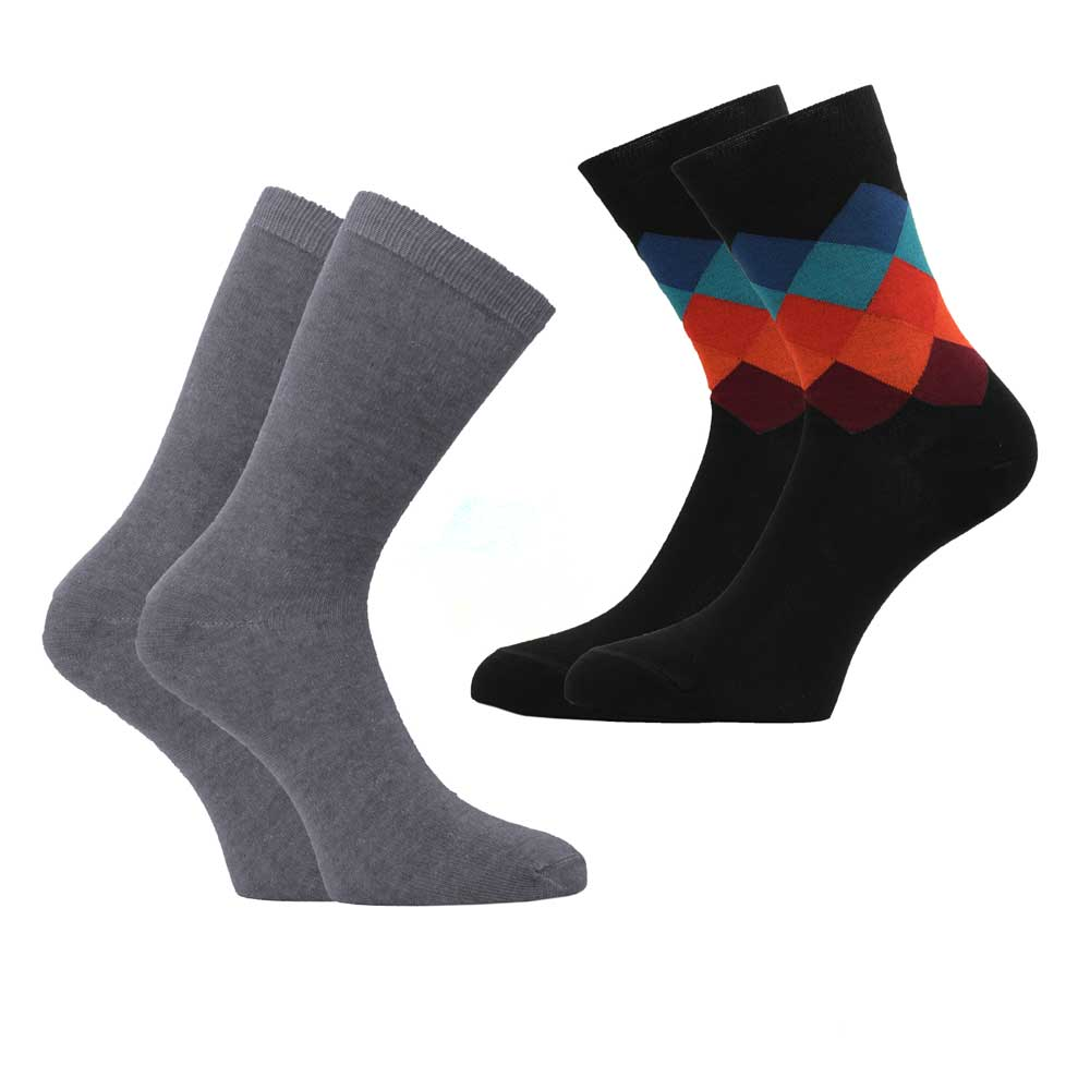 RKI Men's Mossoro Socks Pack of 2 Men's Accessories RKI