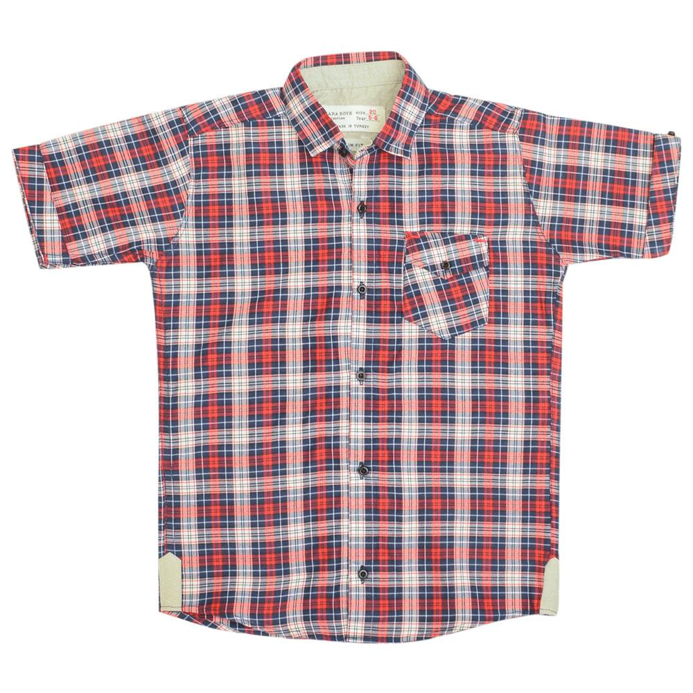 SRT Boy's Airdrie Short Sleeves Casual Shirt Boy's Casual Shirt SRT 16 (2-3 Years)