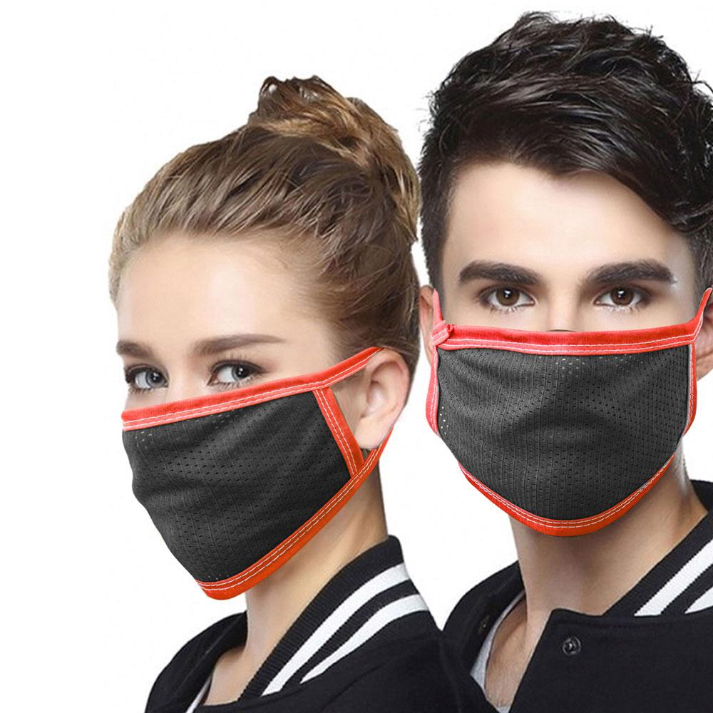 Unisex Dust Repellent Anti-Viral Polyester Mesh Mask Face Mask ASE