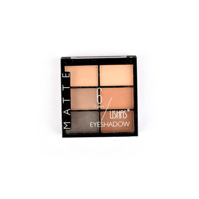 Ushas Matte Six Shades Eyeshadow