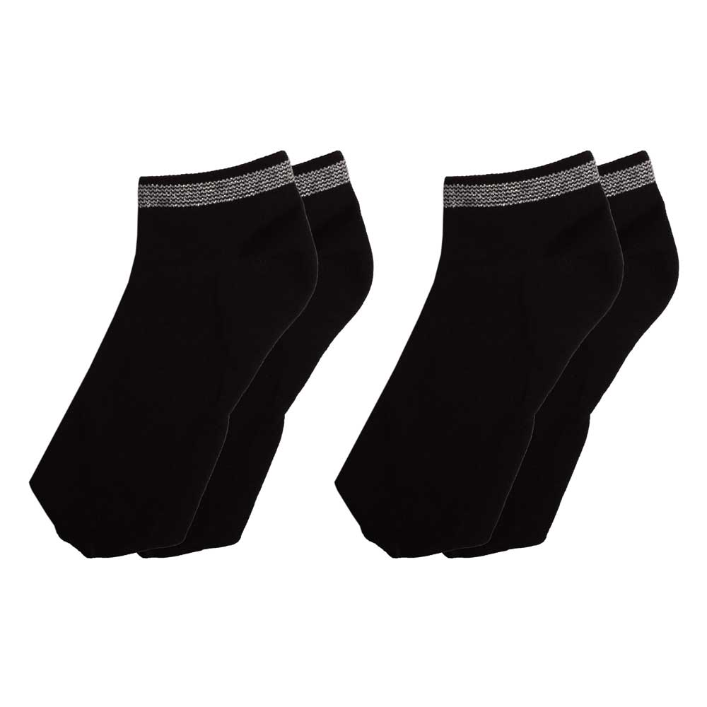 RKI Women's Moira Anklet Socks Pair of 2 Socks RKI Black EUR 36-40