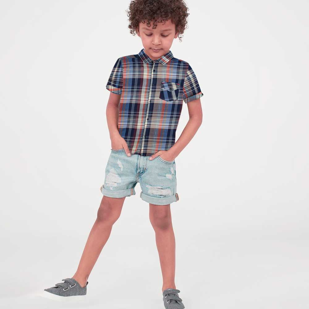 SRT Boy's Wadena Short Sleeves Casual Shirt Boy's Casual Shirt SRT