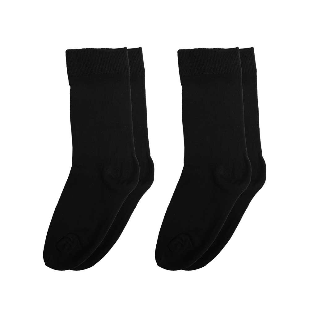 RKI Kid's Leroy Socks Pack of 2 Socks RKI Black EUR 26-30
