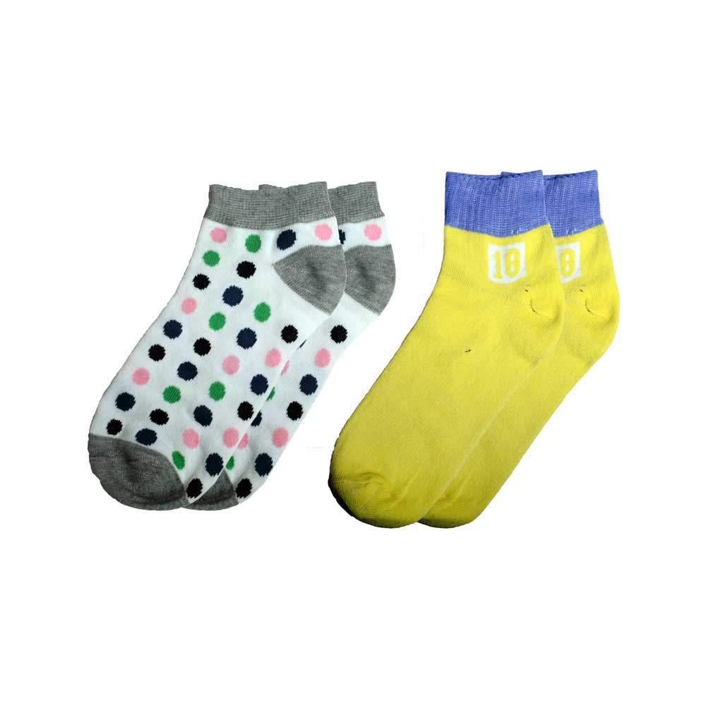 RKI Kid's Evelyn Socks Pack of 2 Socks RKI