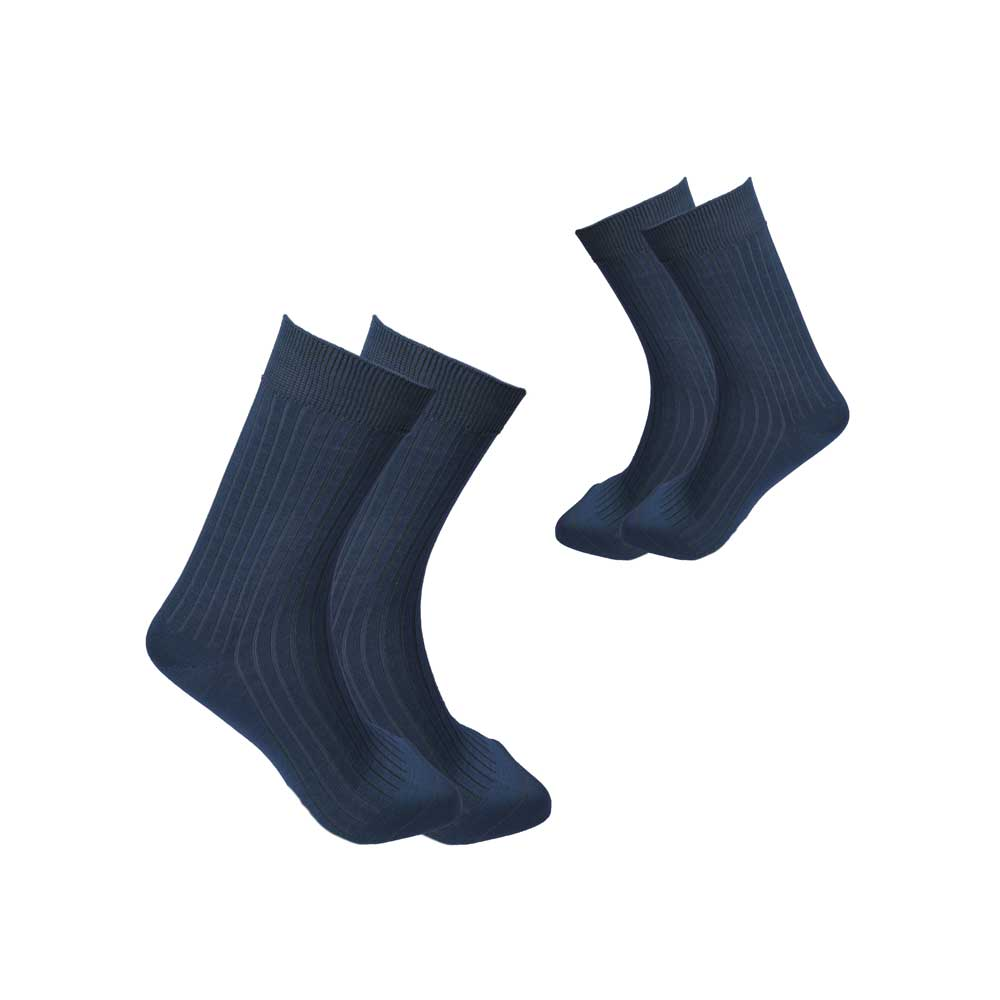RKI Men's Bromell Socks Pack of 2 Socks RKI Dark Blue EUR 41-44