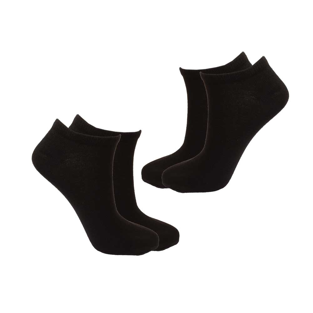 RKI Women's Suzanne Socks Pair of 2 Socks RKI Black EUR 38-40