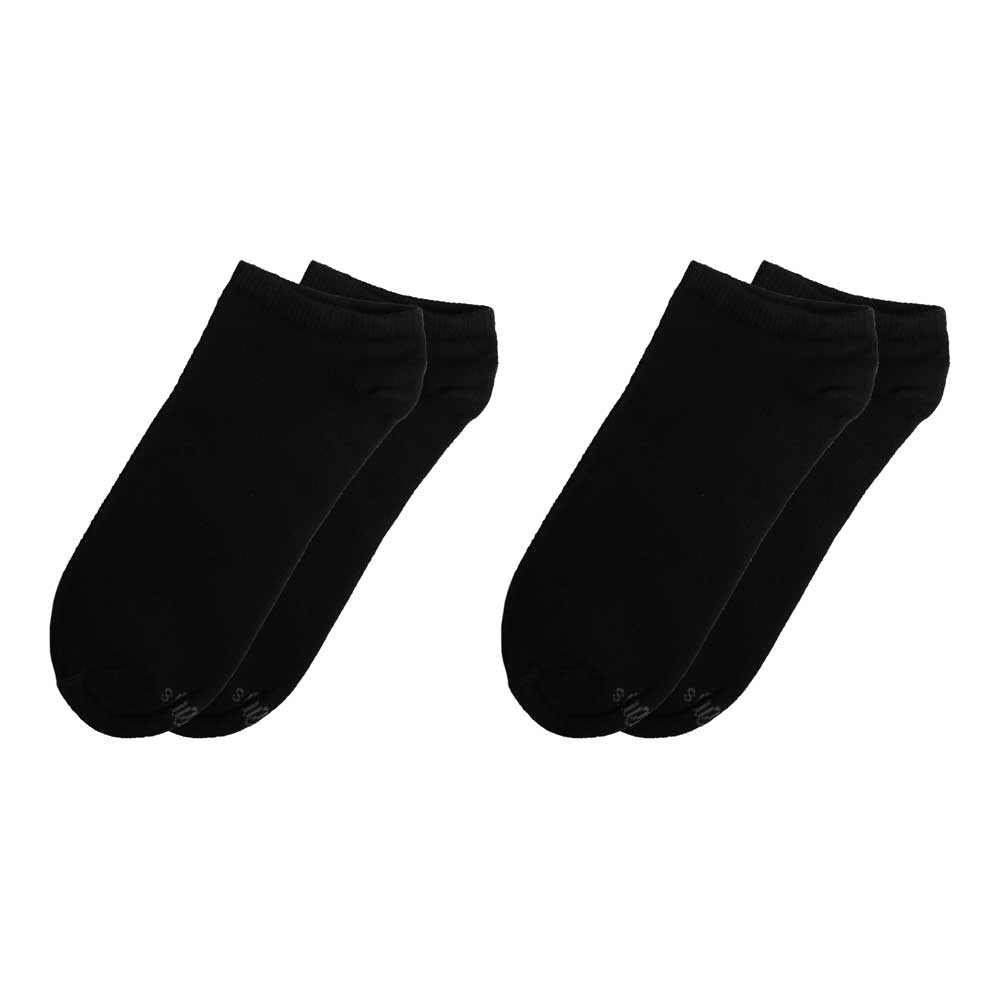 RKI Men's Farrell Anklet Socks Pair of 2 Socks RKI Black EUR 38-42