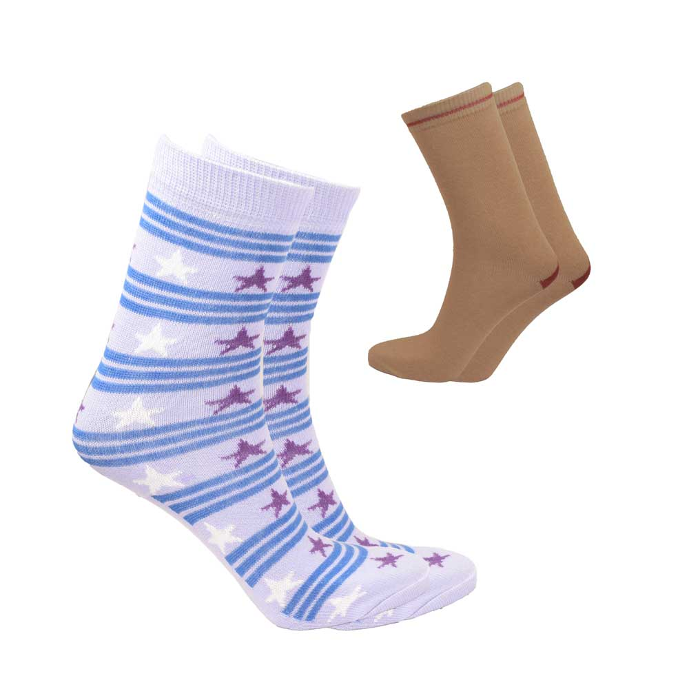 RKI Kid's Cosmo Socks Pack of 2 Socks RKI