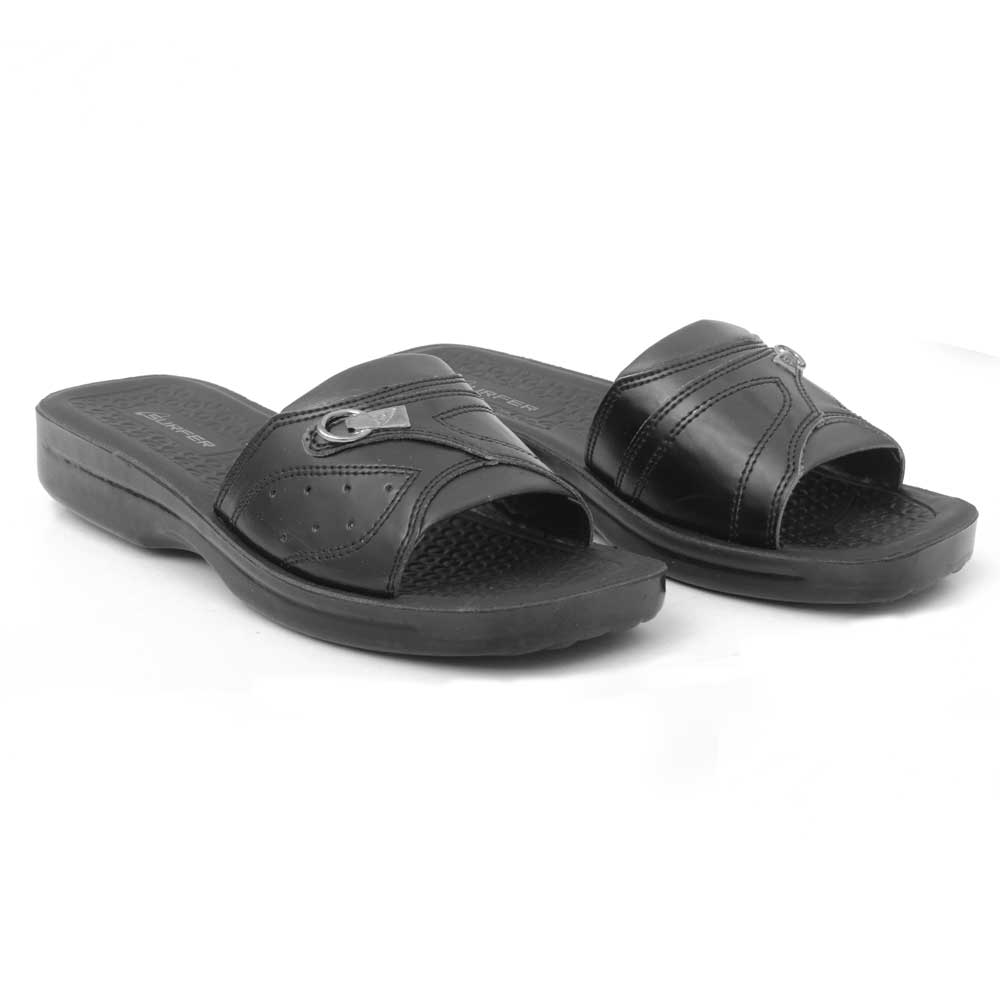 Starlet Men's Surfer WK-04 Slippers Men's Shoes Starlet Shoes Black 6 (US)