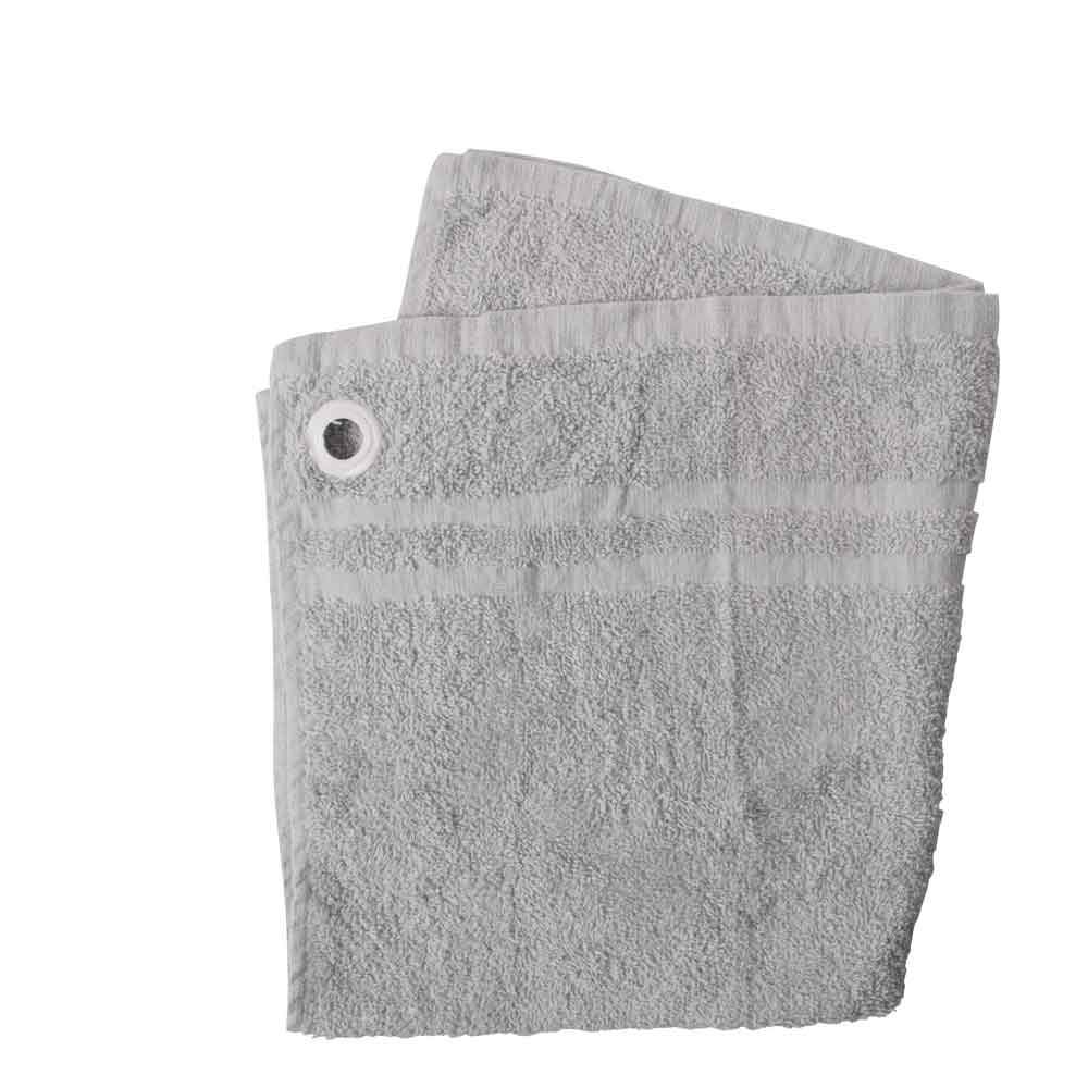 HNC Embellish Kitchen Towel with Eyelet Towel Haroon Cp Light Grey