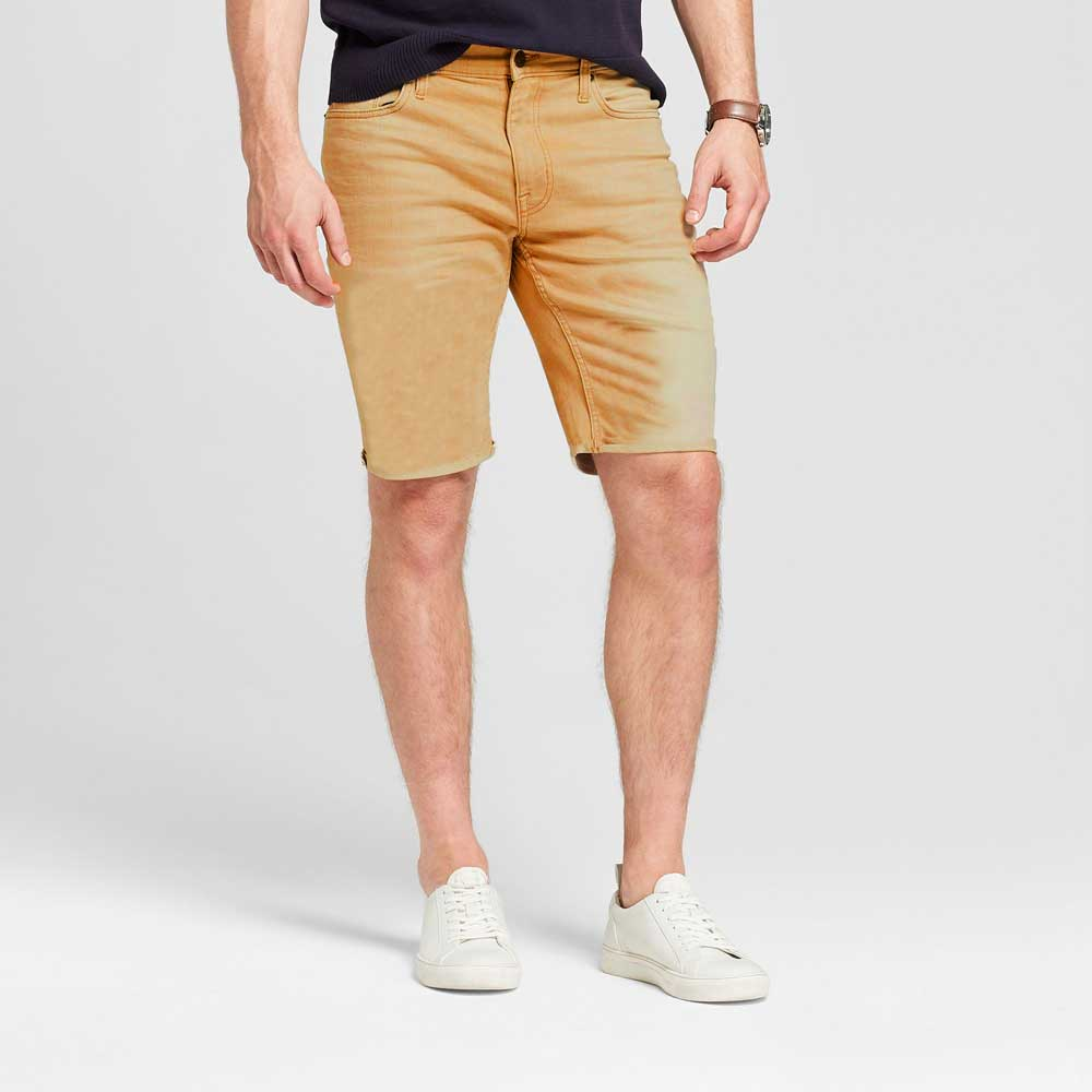 SFE Men's Sebastian Denim Shorts Men's Shorts SNR Khaki 30 20